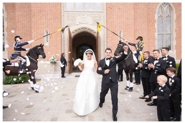 Romantic Elegance at Culver Academy – Culver, Indiana