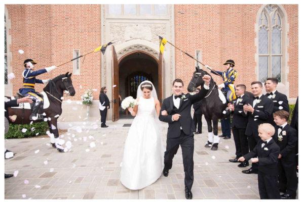 Romantic Elegance at Culver Academy – Culver, Indiana